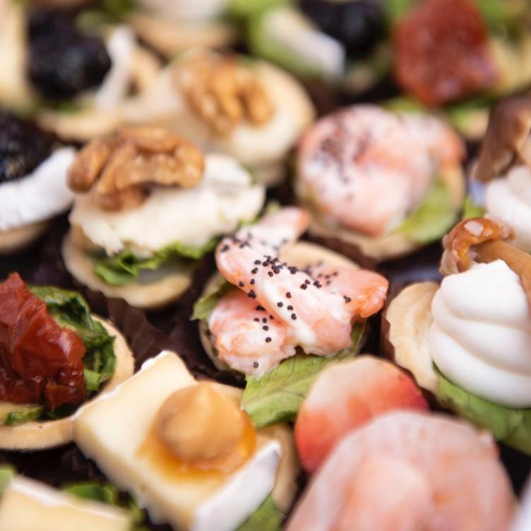 Tartine salate senza glutine - Pasticceria Chicchisani Torino